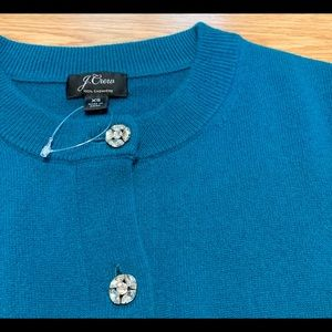J. Crew Sweaters - J. Crew Everyday Jeweled Cashmere Cardigan